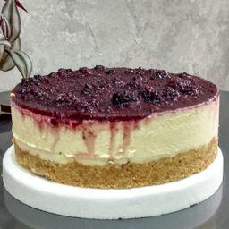 Torta Helada Cheesecake con Frutos Rojos