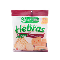 Queso Hebras 4 Queso Light 150g