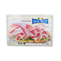 Jamón Cocido Bocatti Feteado 130 g