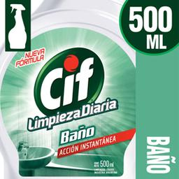 Limpiador Cif Ultra Rapido Baño 500ml
