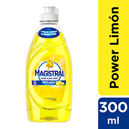 Detergente Magistral Limon 300ml