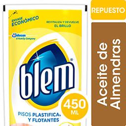 Limpiador De Pisos Flotantes Y Plastificados Blem 450ml