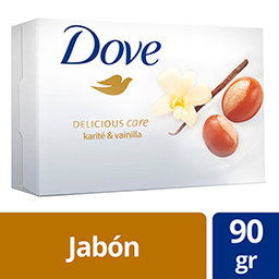 Jabon De Tocador Dove Delicious Care 90g