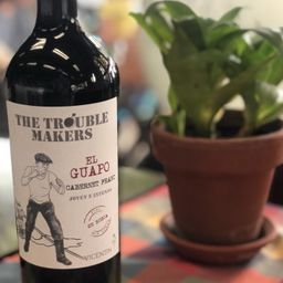 "The Troublemakers "">el Guapo"" Cabernet Franc 750 ml"