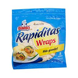 Wraps Rapiditas 415 g
