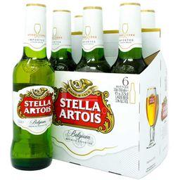 Cerveza Stella Artois Porron 330 Cc X 6 Unidades