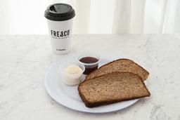 Tostadas con Mermelada + Café