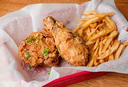 Fried Chicken - Pata Muslo 2 Piezas