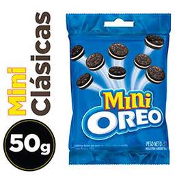 Galletitas Oreo Mini Clásica Con Cacao y Relleno Vainilla  50 g
