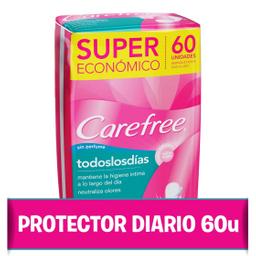 Protectores Diarios Carefree 60 U