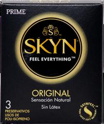 Preservativos Prime Skyn Original X3U
