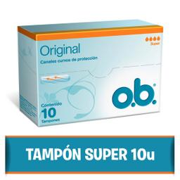 Tampones O.B. Súper 10 U