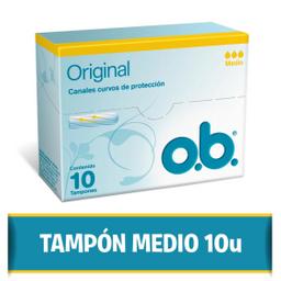 Tampon Ob Medio 10Unid Helix