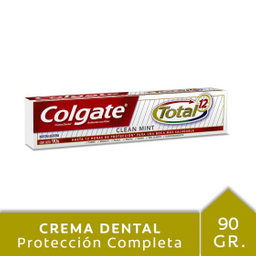 Crema Dental Colgate Total 12 Clean Mint 90 g
