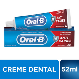 Oral-B 123 AntiCaries Menta Suave Pasta Dental 70g