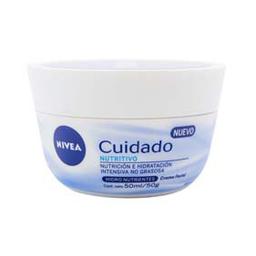 Crema Facial Nivea Cuidado Nutritivo 50 mL