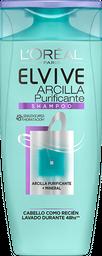 Shampoo Arcilla Purificante Elvive L´Oréal Paris X 200 Ml