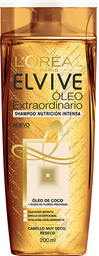 Shampoo Elvive Óleo Extraordinario 200 Ml