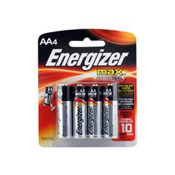 Pilas Energizer Max Aa X 4