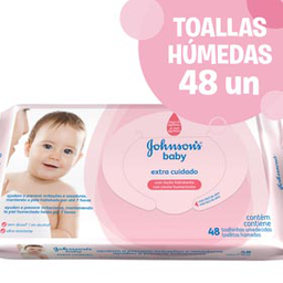 Toallitas Húmedas Johnson's 48 U