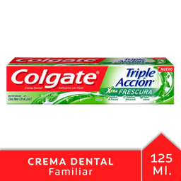 Crema Dental Colgate Triple Acción Extra Frescura 125 mL