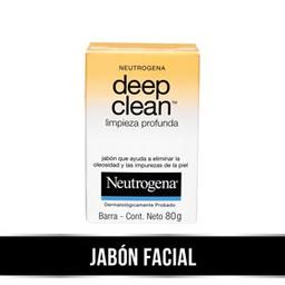 Neutrogena Deep Clean Barra Limpieza X 80Gr