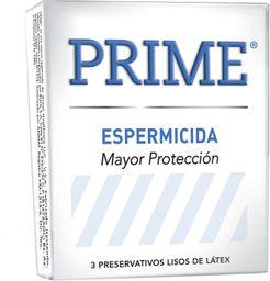 Preservativo  Prime Espermicida x 3 U
