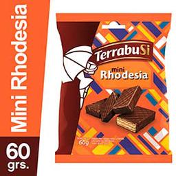 Galletitas Terrabusi Mini Rhodesia Bañadas en Chocolate 60 g