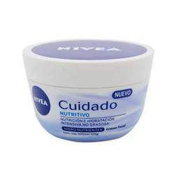 Crema Facial Nivea Cuidado Nutritivo X 100 Ml