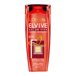 Shampoo Color Vive Elvive L´Oréal Paris X 400 Ml