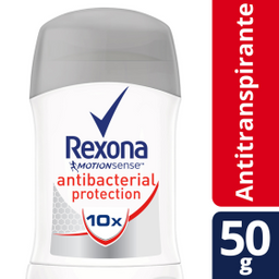 Antitranspirante Rexona Motionsense Antibacterial 50 g