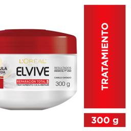 Crema Tratamiento Reparación Total 5 Elvive L´Oréal Paris X300Ml