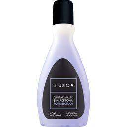 Quitaesmalte Studio 9 Sin Acetona Fort Con Keratina X 60 Ml
