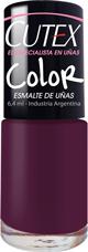 Esmalte Cutex Color Noche De Samba X 6.4 Ml
