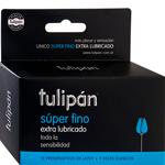 Preservativos Tulipan Super Fino Extra Lubricado 16 U