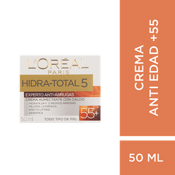 Crema Experto Antiarrugas +55 L´Oréal Paris Hidra Total 5 X 50Ml