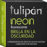 Preservativos Tulipan X3 Neon
