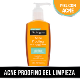 Neutrogena Acne Proofing Gel De Limpieza