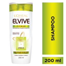 Shampoo Citrus Elvive L´Oréal Paris X 200 Ml