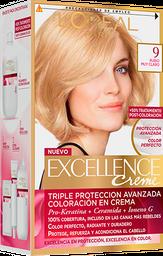 Tintura Permanente Excellence Creme De L'Oréal 9Rubio Clarox47Gr