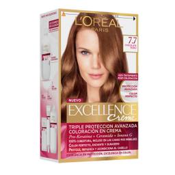 Tintura Permanente Excellence Creme De L'Oréal 77 Chocolatex47Gr