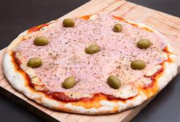 Pizza Muzzarella y Jamón
