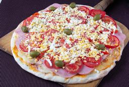 Pizza con Jamón & Huevo