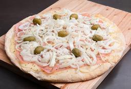Pizza Fugazzeta con Jamón