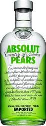 Vodka Absolut Pears 750 mL