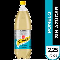 Gaseosa Schweppes Pomelo Zero 2.25 L
