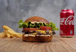 Burger + Papas