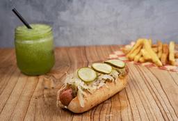 Hot Dog + Papas