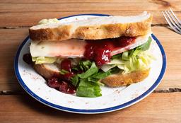 Sándwich de Brie y Chutney