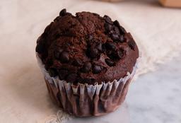 Muffin de Choco con Chips de Chocolate